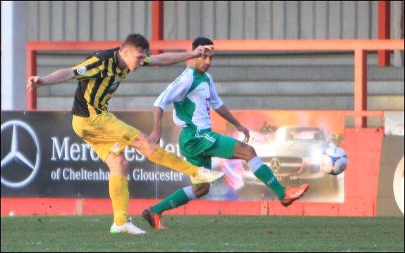 Harry White scores for City against North Ferriby today